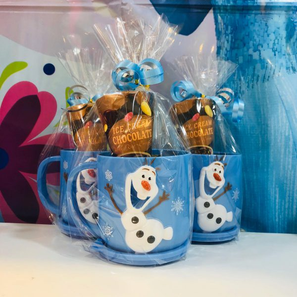 frozen return gifts, goodie bags, goody bag, kids birthday goody bags items includes: cups, oat biscuit, jellies