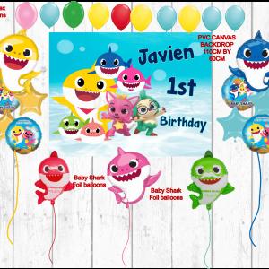 happy birthday balloon package